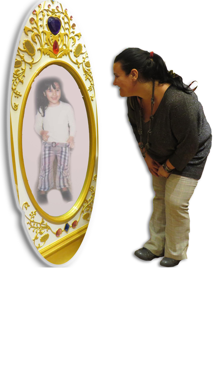 specchio con panel
